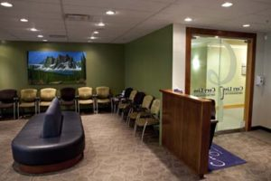 Waiting Area inside of Calgary Orthodontist Office