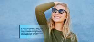 If you're looking for a faster and less noticeable treatment than your traditional braces, talk to us! We can help you figure out if Invisalign is right for you.