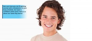 Not sure how you can fit getting started with orthodontics in your busy schedule, but want a confident smile soon? Talk to us about our Same Day Starts!